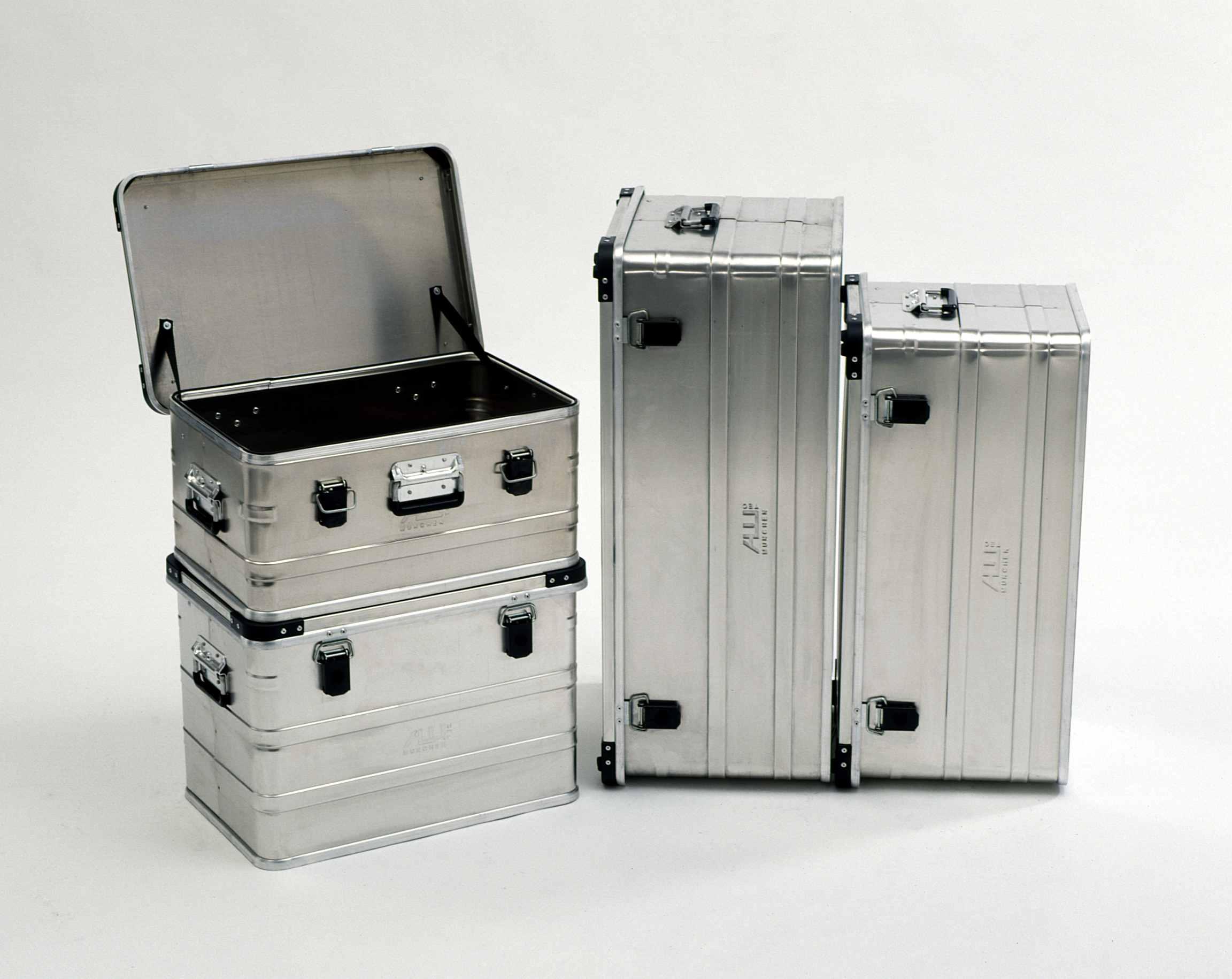 Алюминиевые ящики