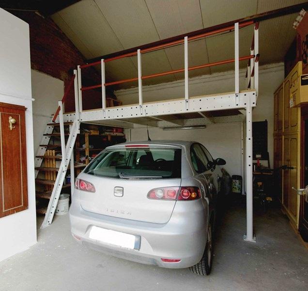 Parvi t15 5 15 m2 fedemark for Prezzo per costruire un garage